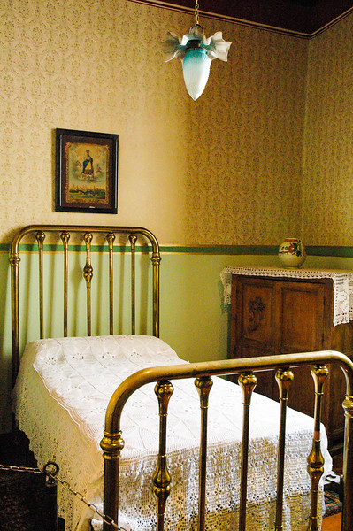 Childhood Bed of Diego Rivera<br /> Guanajuato
