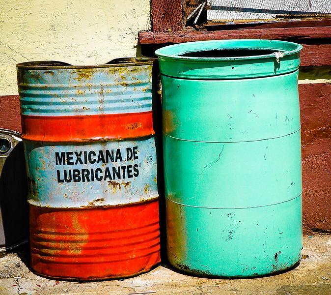 Mexican Lubricant<br /> Silver Mining Shaft<br /> Hidalgo del Parral