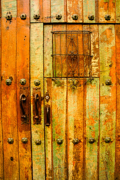Old Door<br /> Puebla