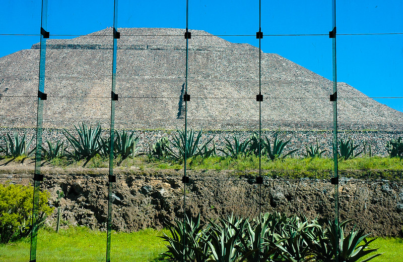 Ruins at Teotihuacan