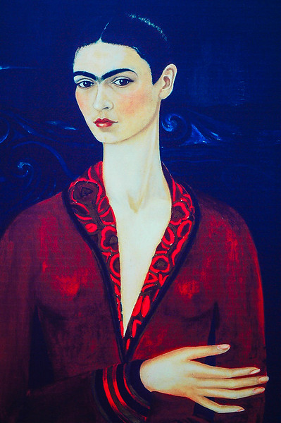 Self-Portrait<br /> Frida Kahlo<br /> Mexico City