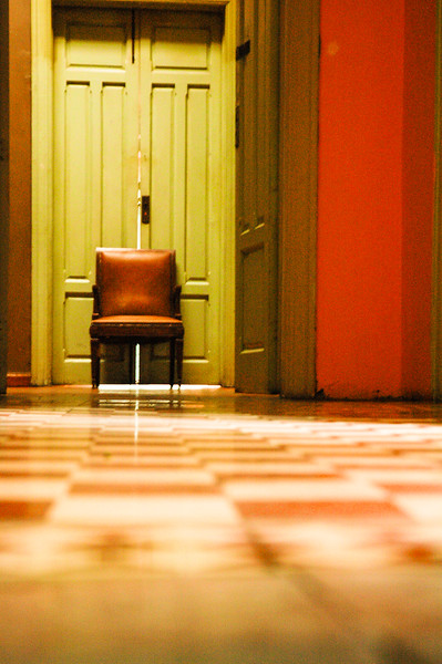 Hotel Hallway<br /> Puebla