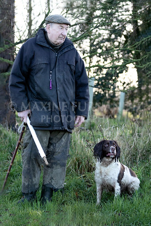 Dave evans and dog-9684