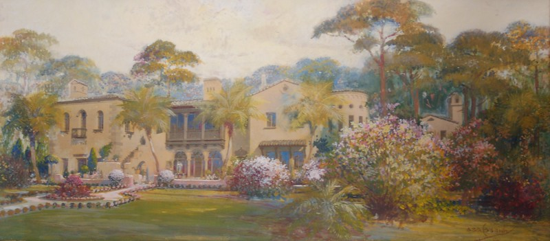 CASSIDY, ASA  CROSLEY MANSION, SARASOTA, BRADENTON, 1935