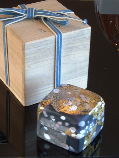 Kyohei Fujita glass box and presentation box
