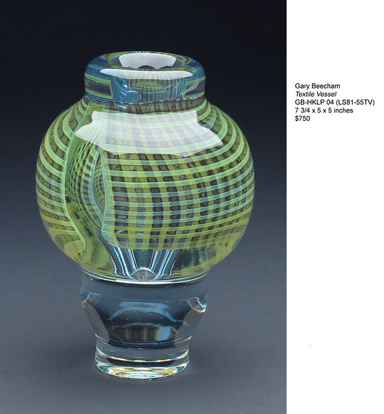 Gary Beecham Textile Vessel