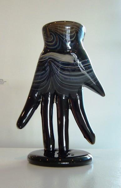 Joel Philip Myers Hand vase