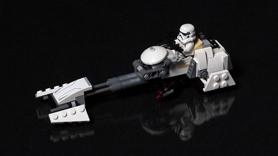Storm Trooper and Speeder
