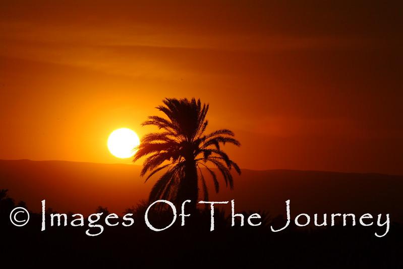 Sunset On The Nile Cruise