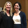 Beth Sullivan and UPGG Distinguished Alumnus speaker, Karen Miga, University of California, Santa Cruz, UCSC Genomics Institute