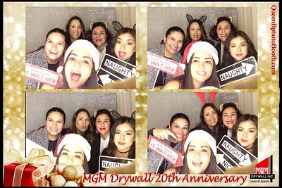 MGM  Drywall 20th Anniversary Posada 2016