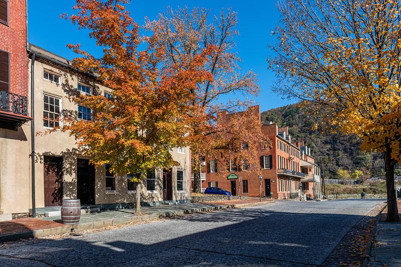 Harpers Ferry Autumn Scene