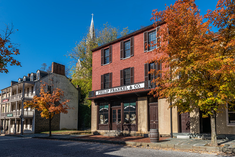 Fall in Harpers Ferry, West Virginia