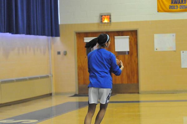 MHCA BBall Senior Game 2015 & Cheer