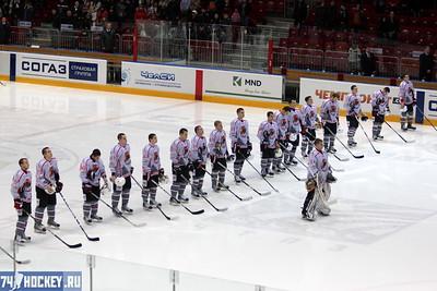 Белые Медведи (Челябинск) - Кузнецкие медведи (Новокузнецк) 4:5. 9 марта 2012