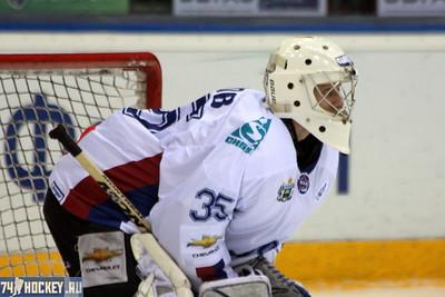 Белые Медведи (Челябинск) - Газовик (Тюмень) 4:3. 14 апреля 2012