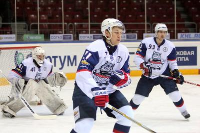Белые Медведи (Челябинск) - Сибирские Снайперы (Новосибирск) 7:1. 18 марта 2012