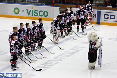 Белые Медведи (Челябинск) - Стальные Лисы (Магнитогорск) 3:5. 19 января 2012