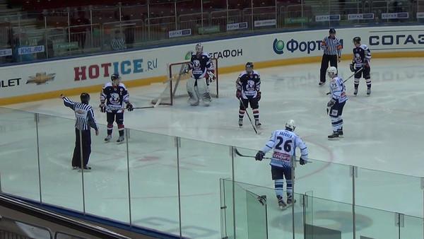 Белые Медведи (Челябинск) - Амурские Тигры (Хабаровск) 2:3. 21 февраля 2012