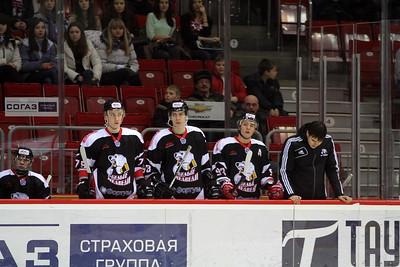 Белые Медведи (Челябинск) - Авто (Екатеринбург) 3:4. 25 января 2013