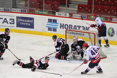 Белые Медведи (Челябинск) - Белые Тигры (Оренбург) 5:3. 26 февраля 2013