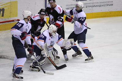 Белые Медведи (Челябинск) - Сибирские Снайперы (Новосибирск) 2:0. 1 декабря 2012