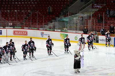 Белые Медведи (Челябинск) - Мамонты Югры (Ханты-Мансийск) 2:1 ОТ. 23 октября 2012