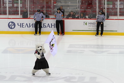 Белые Медведи (Челябинск) - Омские Ястребы (Омск) 2:3 Б. 4 декабря 2012