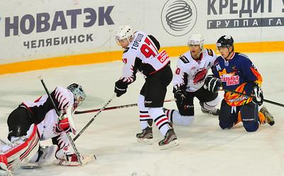 Стальные Лисы (Магнитогорск) - Омские Ястребы (Омск). 1-2 декабря 2012