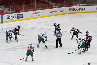 Молодежная челябинская команда МХЛ Белые медведи выиграла в Уфе у местного Толпара со счетом 5:2.