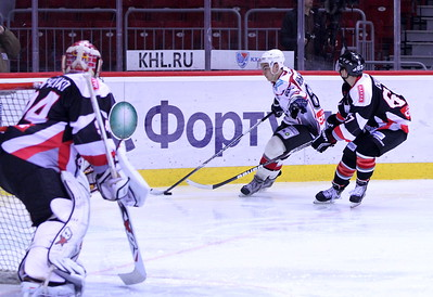 Белые Медведи (Челябинск) - Тюменский Легион (Тюмень) 2:0. 20 октября 2012