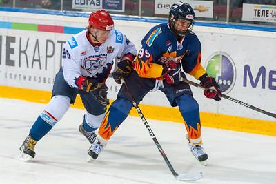 Стальные Лисы (Магнитогорск) - Белые Тигры (Оренбург) 6:1. 28 февраля 2013