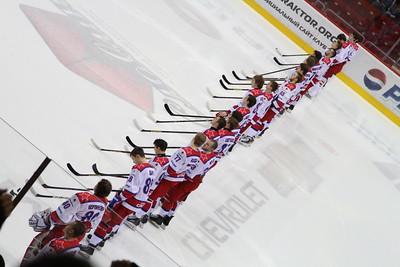 Белые Медведи (Челябинск) - Красная Армия (Москва) 3:2. 7 апреля 2014