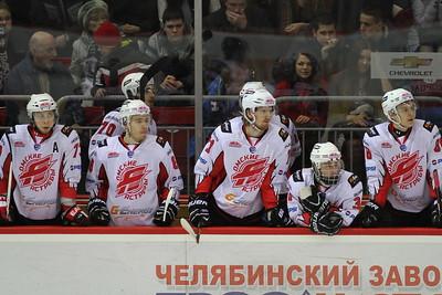 Белые Медведи (Челябинск) - Омские Ястребы (Омск) 4:1. 3 апреля 2014