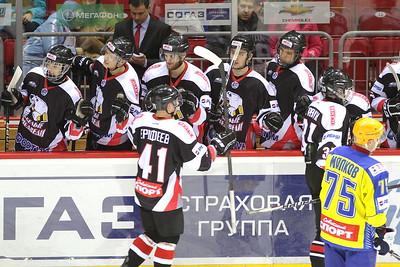 Белые Медведи (Челябинск) - Челны (Набережные Челны) 10:2. 8 января 2014