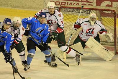 В первенстве Молодежной хоккейной лиги челябинский Мечел начал свое выступление в плей-офф с двух побед над казанским Ирбисом.