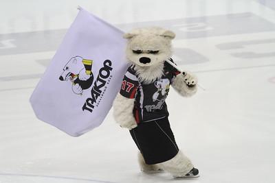 """Белый медведь - талисман хоккейной клуба """"Трактор"""" (Челябинск)"""