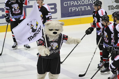 Белые Медведи (Челябинск) - Красная Армия (Москва) 2:5. 6 апреля 2014