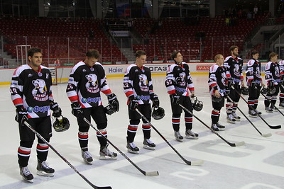 Белые Медведи (Челябинск) - Кристалл (Бердск) 3:2. 24 октября 2013