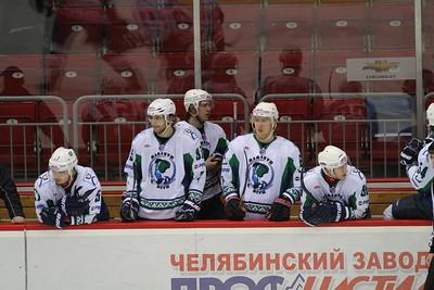 Белые Медведи (Челябинск) - Мамонты Югры (Ханты-Мансийск) 3:2. 25 января 2014