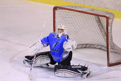 В первенстве Молодежной хоккейной лиги челябинская команда Мечел обыграла с минимальным счет команду Горняк из города Учалы