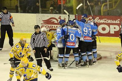 В первенстве Молодежной хоккейной лиги челябинский Мечел разгромил на своем льду пензенский Дизелист
