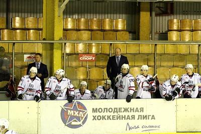Белые Медведи (Челябинск) - Сибирские Снайперы (Новосибирск) 3:2. 4 октября 2013