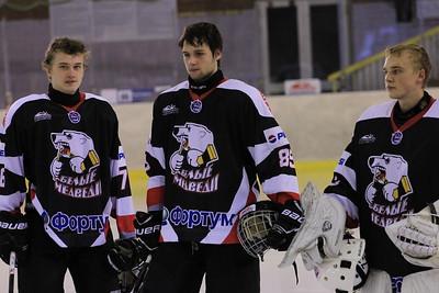 Белые Медведи (Челябинск) - Омские Ястребы (Омск) 2:1. 8 октября 2013