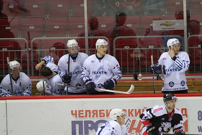 Белые Медведи (Челябинск) - Реактор (Нижнекамск) 4:1. 10 января 2014
