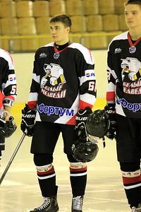 Белые Медведи (Челябинск) - Сибирские Снайперы (Новосибирск) 3:4 Б. 5 октября 2013
