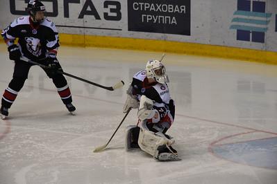 Белые Медведи (Челябинск) - Белые Тигры (Оренбург) 3:1. 7 декабря 2014
