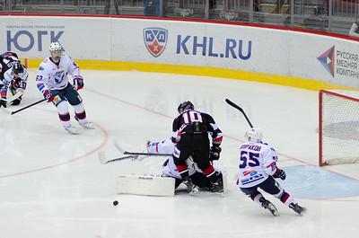 Белые Медведи (Челябинск) - Чайка (Нижний Новгород) 5:4. 5 октября 2014