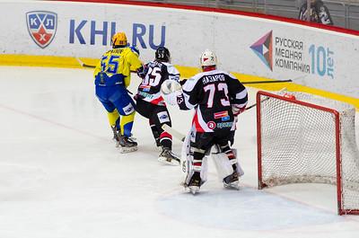 Белые Медведи (Челябинск) - Челны (Набережные Челны) 6:1. 11 января 2015