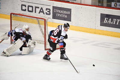 Белые Медведи (Челябинск) - Челны (Набережные Челны) 4:0. 13 января 2015
